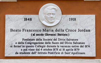 Gedenktafel für P. Franziskus Jordan enthüllt